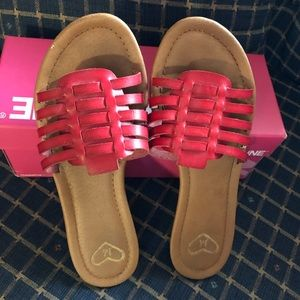 Madeline danny red sandals